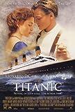 Titanic Poster Movie C 27x40 Kate Winslet Leonardo DiCaprio Billy Zane Poster Print, 27x40