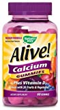 Alive! Calcium Nature's Way 60 Gummy Review