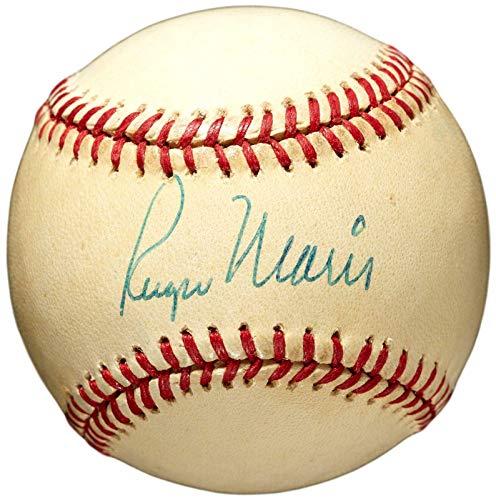 (Roger Maris Autographed Baseball - Single OAL MacPhail 143704 - JSA Certified - Autographed Baseballs)