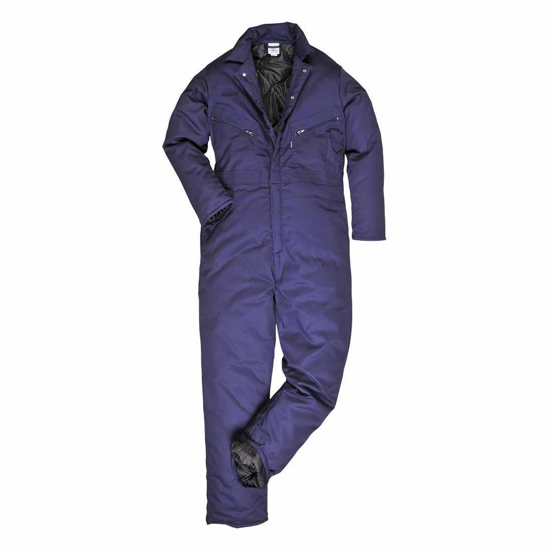 sUw - Orkney Rugged Workwear All Season Lined Coverall Navy Small S816NARS