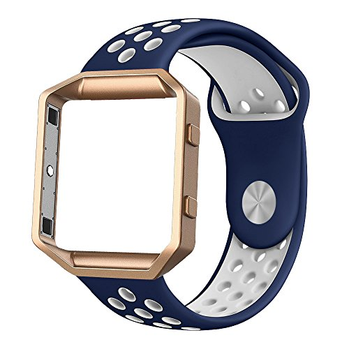 Fitbit Silicone Alritz Wristband Midnight