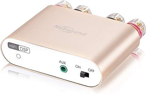 versione aggiornata Amplificatore audio digitale Bluetooth 4.2 Nobsound NS-10G Pro Hi-Fi DSP 100W per altoparlanti domestici 50W x 2 amplificatore 2.0 Canale Stereo Power Audio