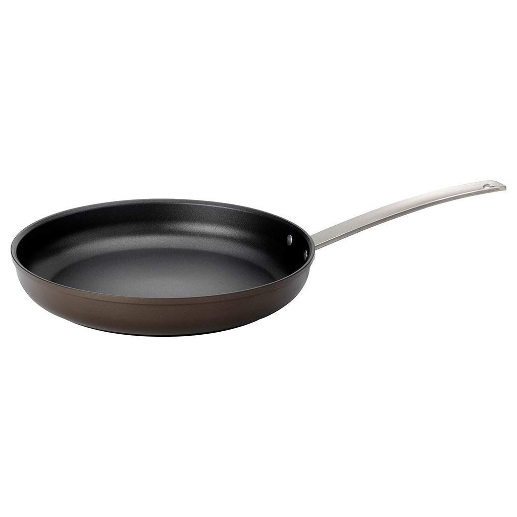 ZYK Frying Pan, Induction Frying Pan, Non-stick Frying Pan, Aluminum Frying Pan Non-slip Insulation Handle/Uniform Heat Transfer/Non-stick Pan/Easy To Clean 20/24/28 Cm (Size : 24cm) by ZYK