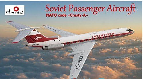 Neu Amodel 72276-1:72 Tupolev Tu-134A Aeroflot airlines