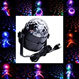 ALED LIGHT Led Party Lights Ideapro 5V USB Power Mini RGB Crystal Magic Bulb Car Led Stage Light For Family Party Kids Birthday Toys Outdoor Dancing Show KTV DJ Disco Light (3W)
