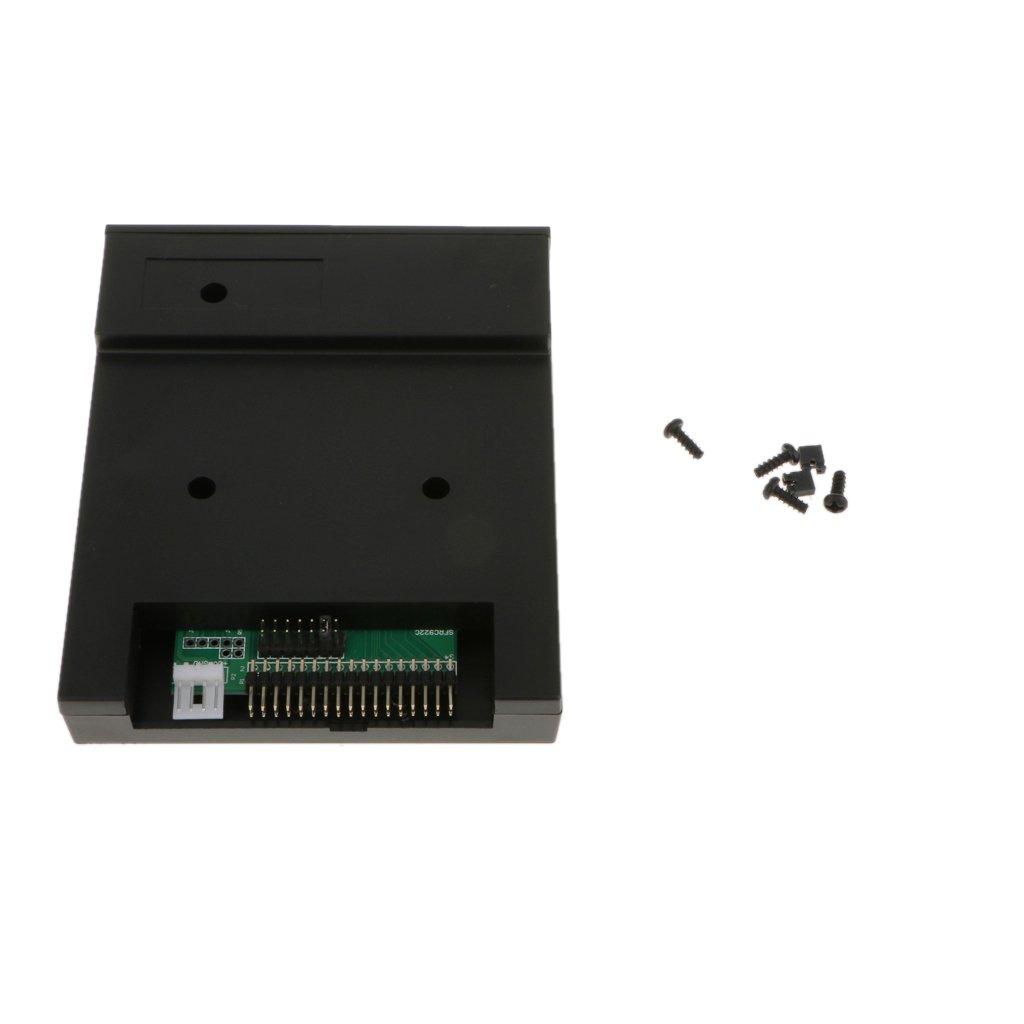 KESOTO Resina ABS SFR SFR1M44-U100K USB Floppy Drive Emulador Aplicable a Órgano Electrónico High Safety Negro