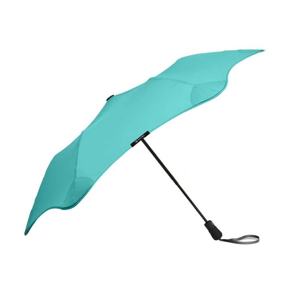 """BLUNT Metro Travel Umbrella with 37"""" Canopy and Wind Resistant Radial Tensioning System - Mint"""