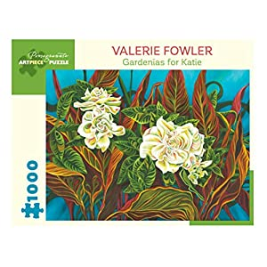 Valerie Fowler Gardenias For Katie 1000 Piece Jigsaw Puzzle Inglese Forniture Assortite 15 Gen 2019