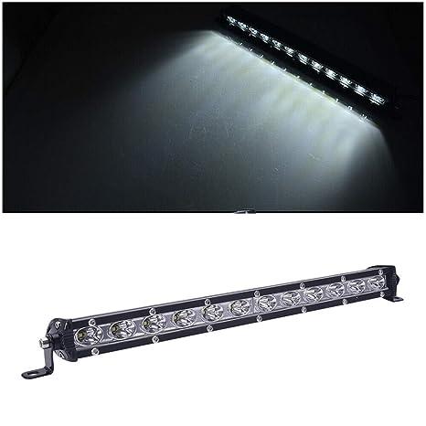 "2PCS 13/"" INCH 36W LED LIGHTS BAR SUV OFFROAD COMBO DRIVING LAMP WORK SPOTLIGHT"