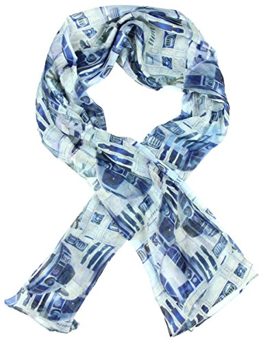 Star Wars R2D2 Viscose Scarf Multi One Size