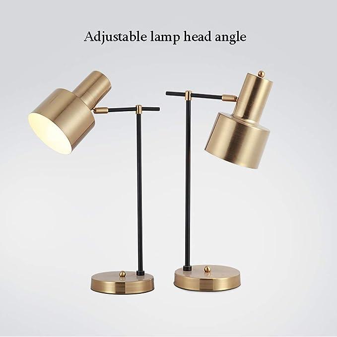 Lámparas de Escritorio Lámpara de Mesa Nordic, posmoderno ...