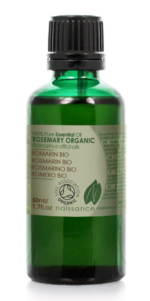 Naissance Romero BIO - Aceite Esencial 100% Puro - Certificado Ecológico - 50ml