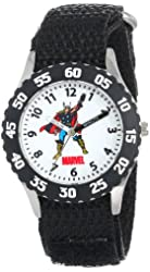 Marvel Kids' W000129 Thor Stainless Steel Time Teacher Watch