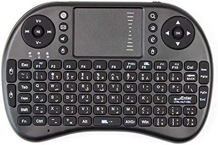 Color: Black English Calvas Mini PC Laptop Wireless i8 Keyboard 2 colour 6 versions 2.4GHz English Spanish Version For Smart Android TV box Laptop Tablet PC