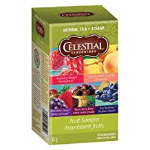Celestial Seasonings Fruit Sampler, 20 Tea Bags