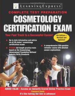 Cosmetology Certification Exam (Cosmetology Certification Exam: The Complete Preparation Guide)