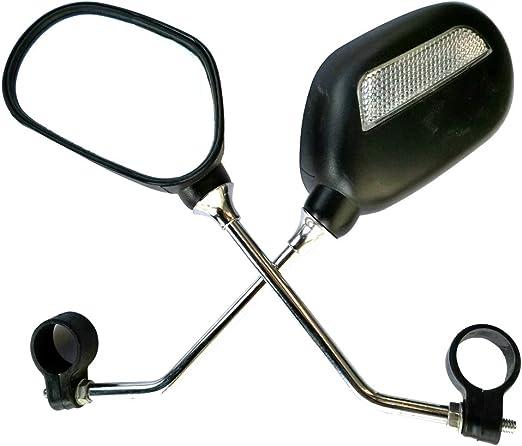 SADA72 1 - Espejo retrovisor para Bicicleta (Ajustable, para ...