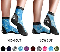 Get your pair of BPS 'Second Skin' Lycra Fin Socks today -- choose between High Cut or Low Cut. Made from a soft and stretchy premium quality Lycra upper with a tougher than standard sole expect them to feel both flexible and fitting for your...