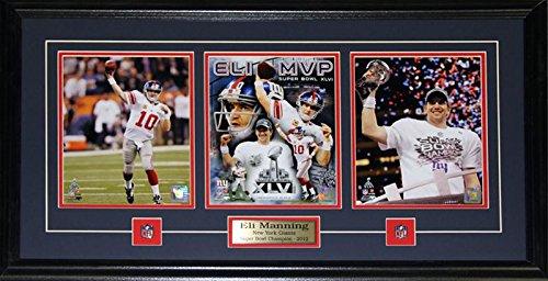 Midway Memorabilia Eli Manning Superbowl XLII New York Giants MVP 3 Photograph ()