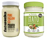 Paleo Approved Avocado Oil Mayo and Grass-Fed Beef Tallow Combo Pack