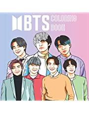 BTS Coloring Book: Amazing Illustrations of BTS, relaxing and great for Bangtan fans