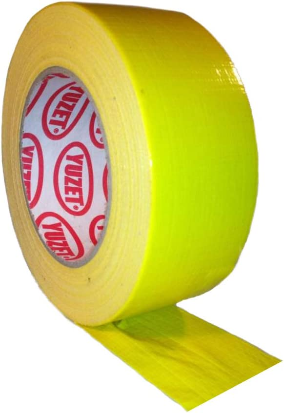 Gaffa Gaffer Tape Gewebeklebeband Lasso Panzertape Klebeband gelb Racefoxx