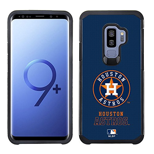 - Prime Brands Pebble Series Dual Layered Case for Samsung S9Plus MLB Houston Astros