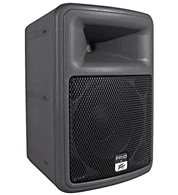 """Package: (2) Peavey PR10 10"""" Two Way Ultra Light Weight High Output Speakers Totaling 1600W Peak/800W RMS + (2) Odyssey BRLSPKLG Redline Series Bags"""