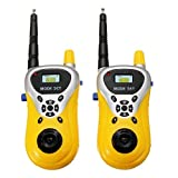 Bazaar 2Pcs Mini Walkie Talkie Outdoor Communication Electronic Phone Kids Toys Portable Two