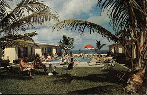 caribee-villas-pompano-beach-florida-original-vintage-postcard