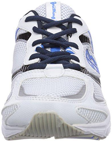 Bruetting Men's Runaway Running Shoes White - Weiß (Weiss/Marine/Royalblau) 26bVQIG6dE