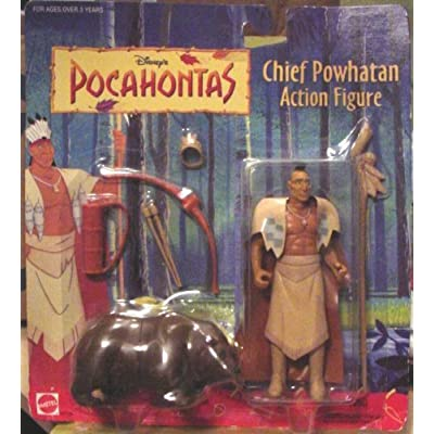 Disney's Pocahontas - Chief Powhatan Action Figure: Toys & Games
