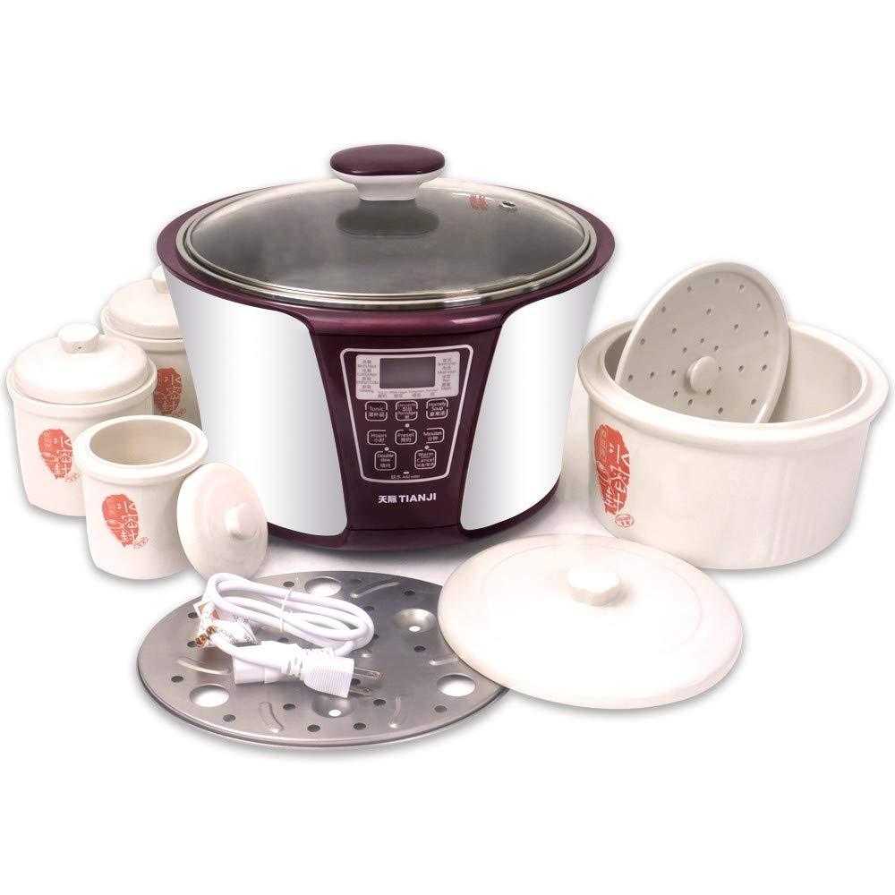 TIANJI Smart 4 Ceramic Pot Electric Stew Pot DGD33-32EG 4-in-1 3.2L+2x0.65L+0.45L by TIANJI