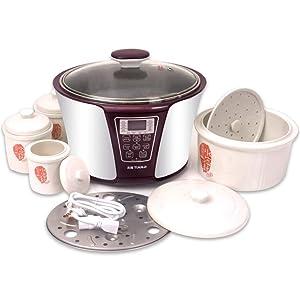 TIANJI Smart 4 Ceramic Pot Electric Stew Pot DGD33-32EG 4-in-1 3.2L+2x0.65L+0.45L