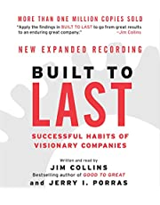 Built to Last: Successful Habits of Visionary Companies (Good to Great, Book 2)