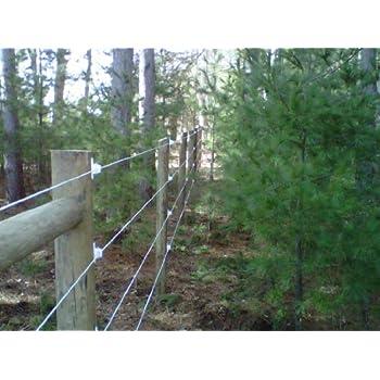 Amazon Com Bayco Finish Line Durable Horse Fence 2000