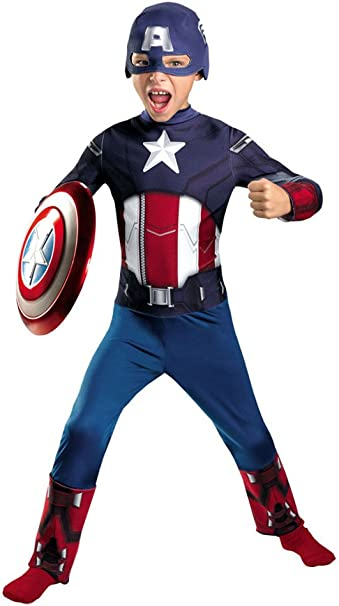 Disfraz niño Capitán América de Los Vengadores para disfraz ...
