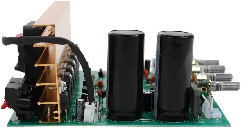 KKmoon Modulo Audio Amplificatore di Potenza DX-2.1 per Canale Audio ad Alta Potenza Subwoofer Doppio Home Theater AC18-24V Forniture