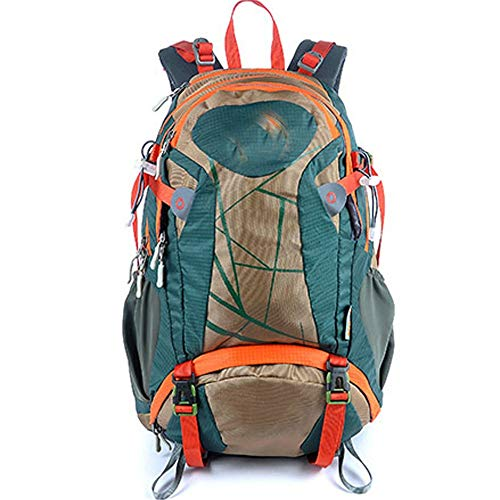 Zzyff Outdoor Hiking Backpack 30L Cycling Backpack Travel Backpack Mountaineering Bag Men and Women Shoulder Sports Bag Durable (Color : Blue)