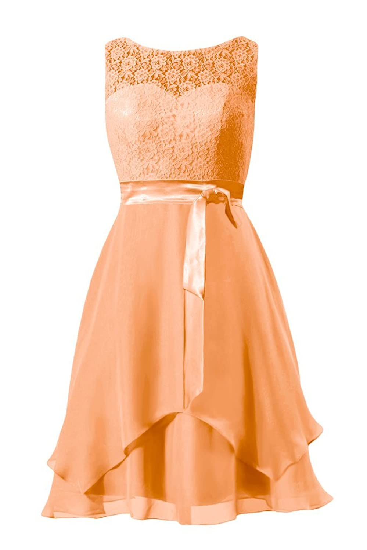 DaisyFormals Vintage Wedding Bridesmaids Dress Short Formal Dress (BM917)