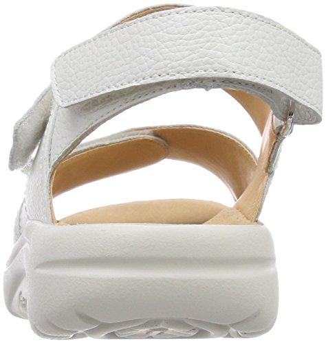 Donna 0200 f Sandale Col Aktiv Tacco Fabia Bianco weiss Scarpe Ganter wfFnO1fq
