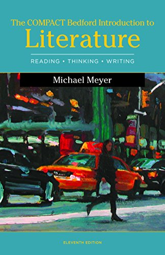 1319037275 - The Compact Bedford Introduction to Literature: Reading, Thinking, and Writing