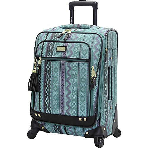 Steve Madden Designer 20 Inch Luggage Collection – Lightweight Softside Expandable Suitcase for Men & Women – Durable…