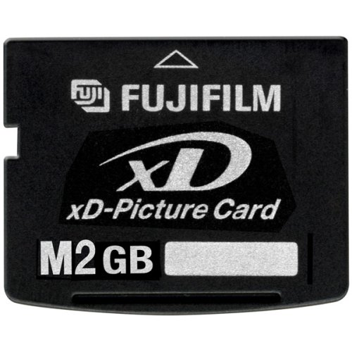 Fujifilm 2 GB XD Flash Memory Card (Retail Package) by Fujifilm