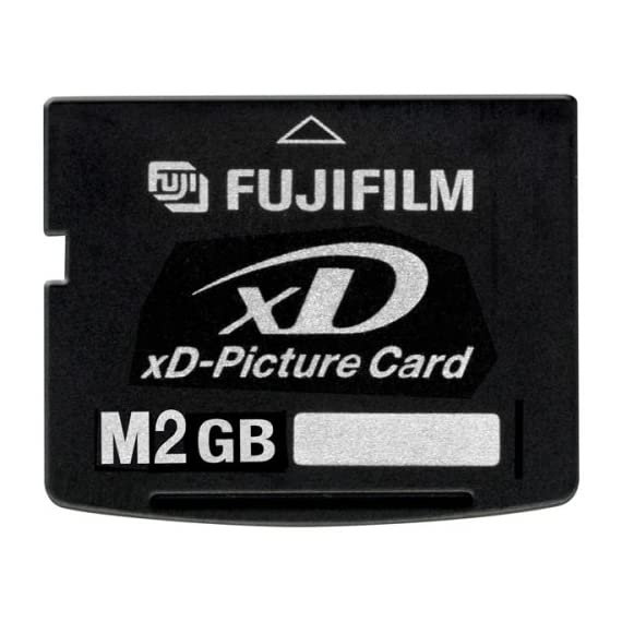 Fujifilm 2 gb xd flash memory card (retail package) 1 provides high read/write speeds rigid memory card construction for exceptional durability ultra compact design
