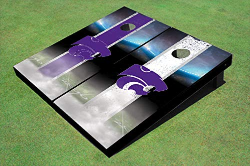 Skip's Garage Kansas State Wildcats Alt Stadium Stripe 2x3 Cornhole Boards (24