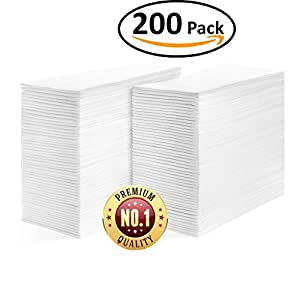Linen feel guest towels disposable cloth like - Disposable guest towels for bathroom ...