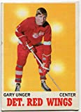 1970/71 Topps Gary Unger Card #26 Detroit Red Wings