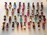 Best LEGO Friend And Sisters - LEGO Friends Girl Female Male Minifigures - Lot Review