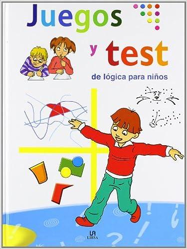 Juegos Y Test De Logica Para Ninos Libros De Entretenimiento Amazon